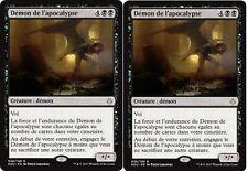 MTG Magic - Âge de la Destruction - Démon de l'apocalypse X2 - Rare  VF