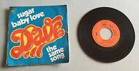 Ref 103 Vinyle 45 Tours Dave Sugar Baby Love