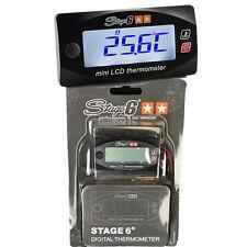 Temperaturmesser Stage6 MKII Mini Schwarz (0-120 °C) Temperatur Messer