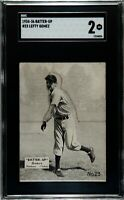 1934-36 Batter-Up Lefty Gomez HOF Yankees SGC 2