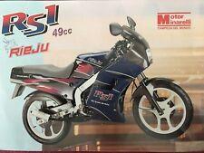 Motor Minarelli Rieju RS1 49cc Brochure Prospect ES
