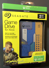 Seagate 2TB XBOX Game Drive [ Cyber Punk 2077 Special Edition ] NEW