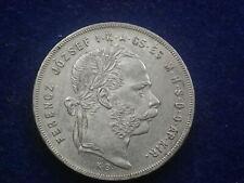 Gulden ( Forint ) 1877  KB Silber  Franz Joseph W/20/1205