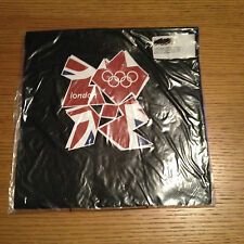 NEW LONDON olympics 2012 WOMEN'S T SHIRT SIZE 12 BLACK ADIDAS