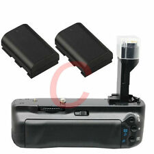 Vertical Battery Grip Pack For Canon 5D Mark II 5DII Camera + 2 x LP-E6 as BG-E6