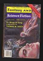 Feb 1979  Magazine of Fantasy & Science Fiction- Thomas M Disch, Isaac Asimov
