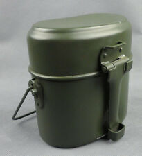 WWII GERMAN MILITARY ARMY M31 MESS TIN CANTEEN-D71