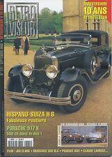 RETROVISEUR n°121 09/1998 HISPANO SUIZA H6 PORSCHE 917K MERCEDES 350 SLC 604