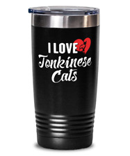 Tonkinese Cats Cat Gift for Cat Lovers - Tonkinese Cats Tumbler Present Travel M