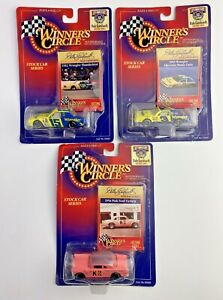 Lot 3~1998 Dale Earnhardt '56 PINK FORD 82' Thunderbird 85' Monte Carlo On Cards