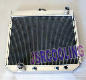 2 ROW Aluminum Radiator fit for 1969-1970 FORD MUSTANG 250 302 AT MT New