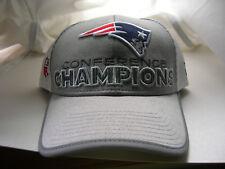 New England Patriots 2017 Locker Room de campeones de conferencia AFC  Sombrero Gorra Nueva Era b2e202d73e0