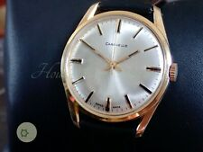 MENS vintage CARAVELLE SWISS WATCH 17J RECENT SERVICE ST 96 CIRCA 1971