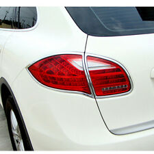 4PCS Rear Chrome Tail Light Lamp Trim [Fits: Porsche Cayenne 2012-2014]