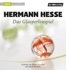+ Hesse Hermann : Das Glasperlenspiel 2er MP3 HörBuch NEU Ungekürzte Lesung