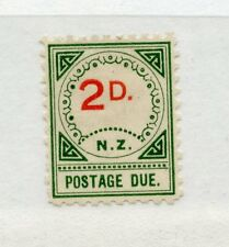 NEW ZEALAND POSTAGE DUES 1899 2d large D mint hinged. SG D11/ Cat £55