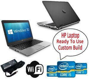 CHEAP HP Laptop Core i5 4th Gen 8GB RAM 500GB/256GB SSD WiFi Win 10 Warranty