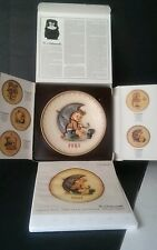 1981 M. J. HUMMEL GOEBEL Annual Collector Plate●In original box