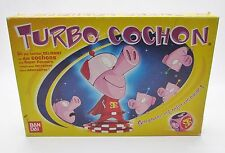 Turbo Cochon Board Game in French, François by Ban Dai - COMPLETE!