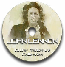 JOHN LENNON Guitare & Piano Tab Tablature Song Book CD