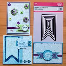 """CRAFT CONCEPTS NESTING DIES Buntings Labels Tag Fishtail Banners """"SPECIAL"""" BNIP"""