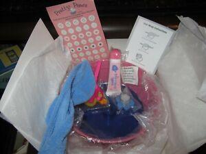American Girl Doll Pet COCONUT Spa Accessories NEW IN Original Box NEW