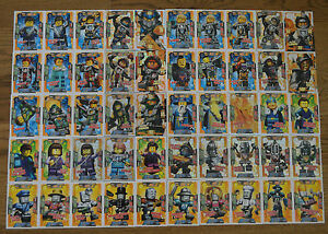Lego® Nexo Knights™ Trading Card Game Karten aussuchen Sammelkarten Nr. 1 - 50