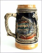 """Chope à bière marquée """"Maison des Tanneurs"""" à Strasbourg, H : 12 cm"""