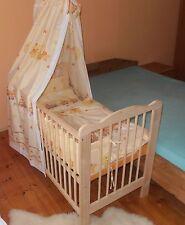 Beistellbett-Set Kinderbett Gitterbett  Babybett KOMPLETT Set 5 Farben Matratze