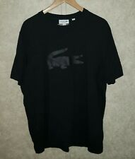 Men's LACOSTE ( Big Logo ) Short Sleeve t-Shirt Sz 7