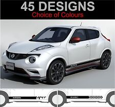 nissan juke side stripe decals stickers nismo side stripes