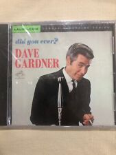 Brother Dave Gardner DID YOU EVER? Comedy CD