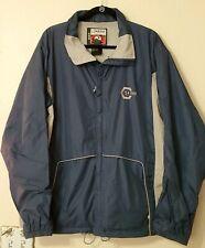 BURTON RONIN Men Snowboard Snow Jacket LRG blue ski coat zip pocket weatherproof
