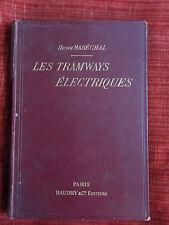 MARECHAL Les tramways électriques 1897