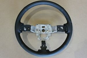 OEM Mazda RX8 Black Leather Steering Wheel RX-8 2009-2011 Factory