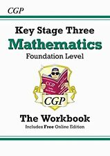 KS3 Maths: Workbook (Without Answers) - Levels 3-6 (Workbooks) by Richard Parson