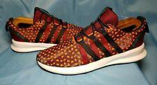Adidas SL Loop CT Runner Men's Size 10.5 Black Orange Q16405 Polka Dot Shoes M
