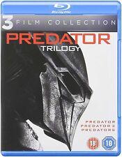 Predator 1 2 3 Movie Trilogy Film Collection [Blu-ray Set, Region Free, 3-Disc]
