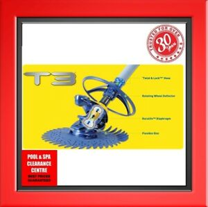 ZODIAC T3 POOL CLEANER WITH HOSES + 2 YEARS WARRANTY + A FREE GIFT!