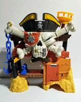 Fisher Price Mattel Imaginext Pirate Scull Castle Billy Bones - Good Condition
