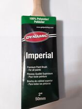 """Dynamic Imperial 2"""" Paintbrush 100% Polyester For All Paints HB186005"""