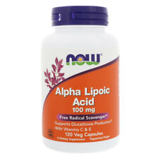 NOW FOODS Alpha Lipoic Acid 100mg, 120 compresse - Acido alfa lipoico