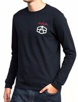 Men's RVCA Reynolds USA Navy Long Sleeved Tee, Size L. NWT, RRP $79.99.