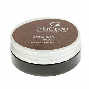 Nacreo Aqua Wax Brown 50ml Coloured Hair wax - UK STOCKIST