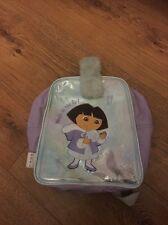 DORA THE EXPLORER Backpack School Nursery Bag Fur handle Nickelodeon
