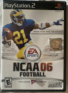 NCAA 06 Football Game Sony PlayStation 2 Complete  With Manual