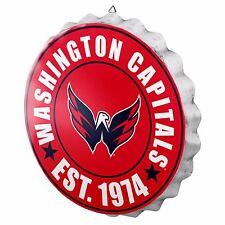 """Washington Capitals Bottle Cap Sign - Est 1974 - Room Bar Decor NEW 13.5"""""""