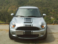For MINI Cooper Any Model Front Bonnet Bumper Stripe VINYL STICKER DECAL Graphic