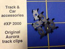 Aurora Track Clips Ho Slot car 8 per bag HXP 2000 Mid-America Raceway