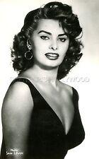SEXY SOPHIA LOREN 60s VINTAGE POSTCARD #7 busty